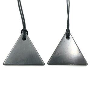 Shungite Pendant Triangle 1