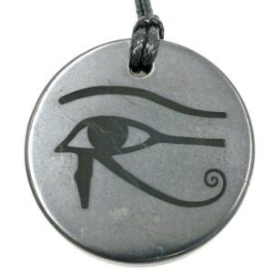 Shungite pendant Eye of Horus 1