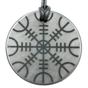 Shungite pendant Helm of Awe 1