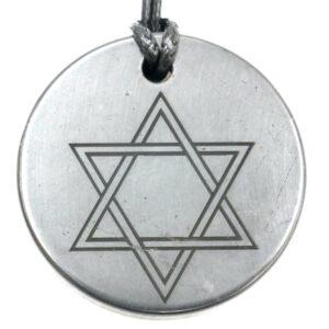 Shungite pendant Star of David 1