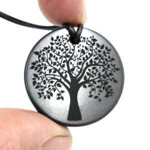 Shungite pendant Tree of Life 2