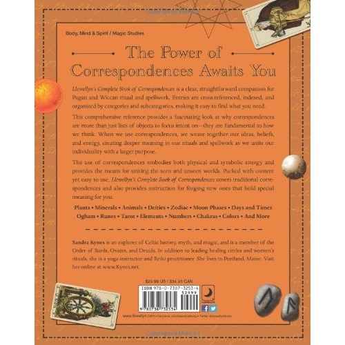 Complete Book of Correspondences back