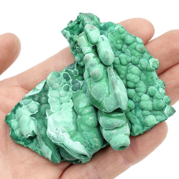 Malachite Stalagmite/Stalactite Specimen 8cm 111g 3 M04 3