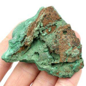 Malachite Stalagmite:Stalactite Speciment 6cm 123g 2 M04 5