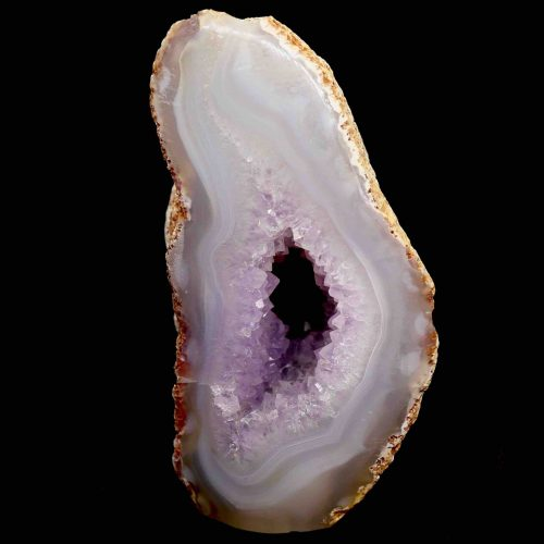 Agate Amethyst Polished Geode 550g 1