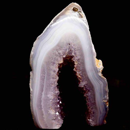 Agate Polished Geode 525g 1