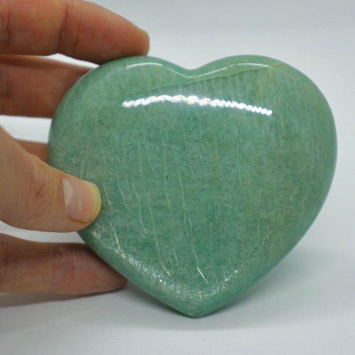 Amazonite_Heart_Rare_9cm_268g 4