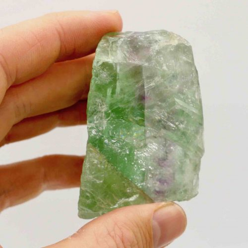 Fluorite, Rainbow Natural Rough Piece 6cm_138g_4