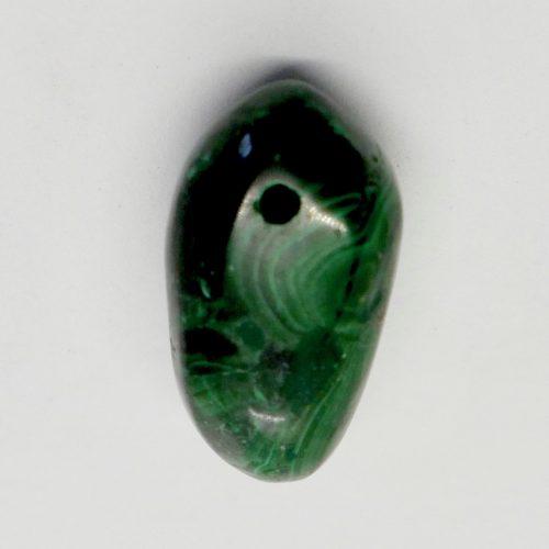 Malachite Tumbled Pendant B3