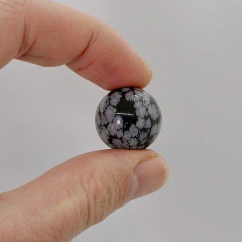 Obsidian_Snowflake_Sphere_10g 5