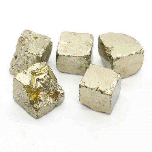 Pyrite Natural Cubes 1cm_1