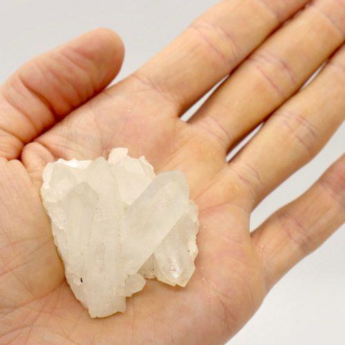 Quartz, Clear Crystal Cluster 40-60g_1_3