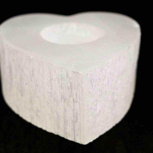 Quartz Heart Candle Holder 2
