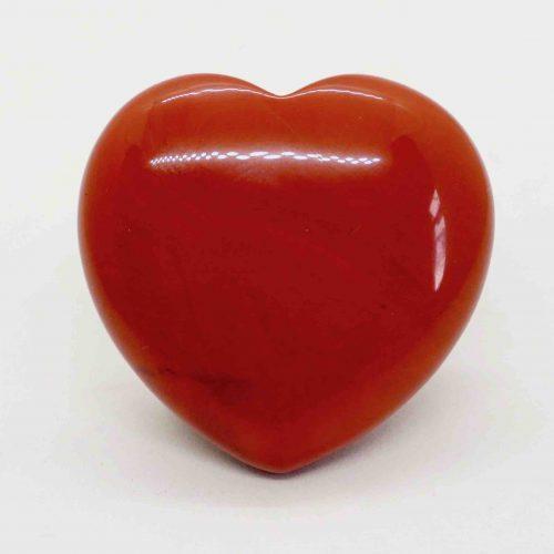 Red Jasper Polished Puffy Heart 1